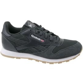 Gris Zapatillas Reebok Cl Leather Estl U CN1142