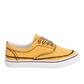 Zapatillas amarillas para mujer BS103 Amarillo