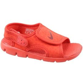 Rojo Nike Sunray Adjust 4 Ps Jr 386518-603 sandalias