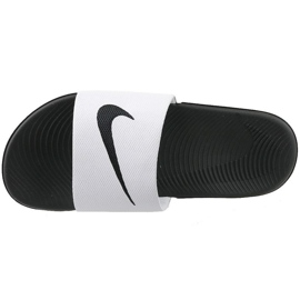 Zapatillas Nike Kawa Slide Gs / Ps 819352-100 blanco