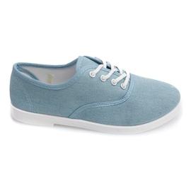 Azul Zapatillas Low C91 Blue