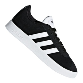 Negro Zapatillas Adidas Vl Court 2.0 Jr DB1827