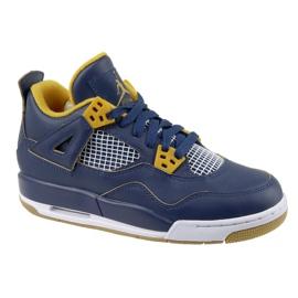 Nike Jordan Jordan 4 Retro Bg Jr 408452-425 zapatos marina
