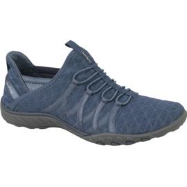 Zapatillas Skechers Breathe Easy W 23048-SLT azul