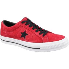 Converse One Star M 163246C Calzado rojo