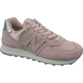 Calzado New Balance en WL574OPS rosa