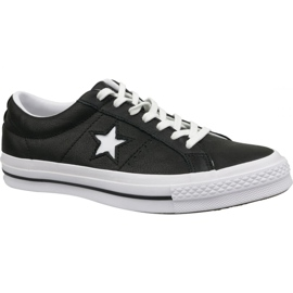 Zapatos Converse One Star Ox 163385C negro