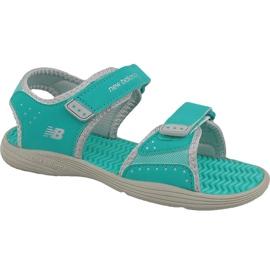 Verde New Balance Jr K2004GRG sandalias azul