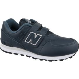 New Balance YV574ERV Jr Calzado azul marino