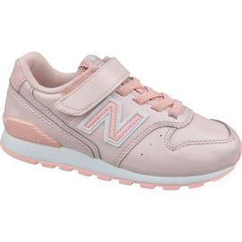 Zapatillas New Balance Jr YV996GB rosa