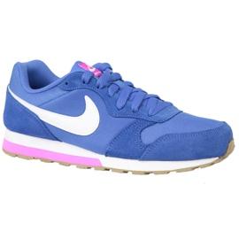 Azul Nike Md Runner 2 Gs W Calzado 807319-404