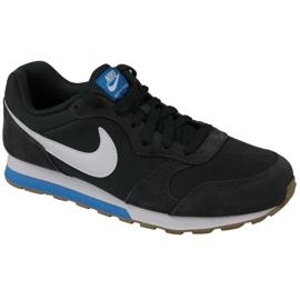 Nike Md Runner Gs W 807316-007 calzado negro