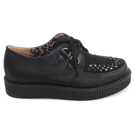 Botas Creepers On Platform 061ss Negro