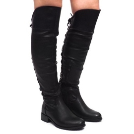 Botas elegantes F103 negro