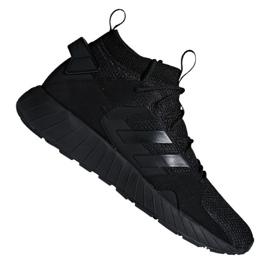 Negro Adidas Questarstrike Mid M G25774 calzado