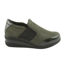 Zapatos de cuña Sergio Leone 225 oliva
