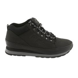 Lee Cooper zapatos de invierno para hombres 19-20-011 negro