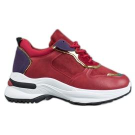 SHELOVET Zapatillas casuales rojo