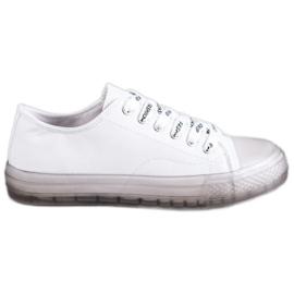 SHELOVET blanco Zapatillas bajas de mujer