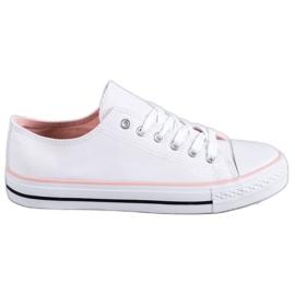 SHELOVET blanco Zapatillas blancas