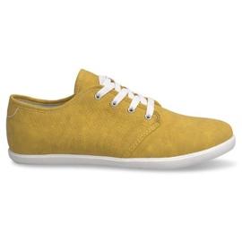Amarillo Zapatillas de hombre 3307 amarillas
