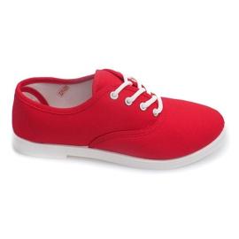 Rojo Zapatillas Low C91 Red