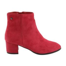 Filippo 316 botas de ante rojo