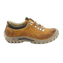 Zapatos camel Riko 904 crazy sunny