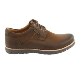 Zapatos con cordones Riko 761 marrón