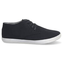 Zapatillas altas de moda 3232 Negro