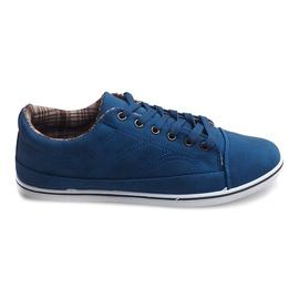 Zapatillas altas de moda TL345 azul marino marina
