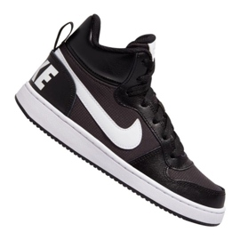 Zapatillas Nike Court Borough Mid Pe (GS) Jr BV1607-001 negro