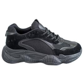 SHELOVET negro Zapatillas Negras Mujer