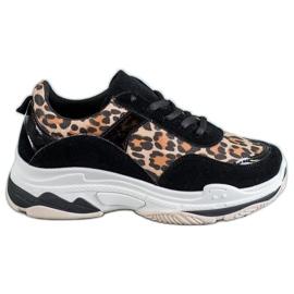 Kylie Zapatillas con estampado de leopardo