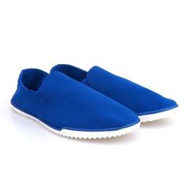 Zapatillas Slip-on de Licra 8527 Azul