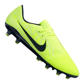 Nike Phantom Vnm Pro AG-Pro M AO0574-717 zapatillas amarillas