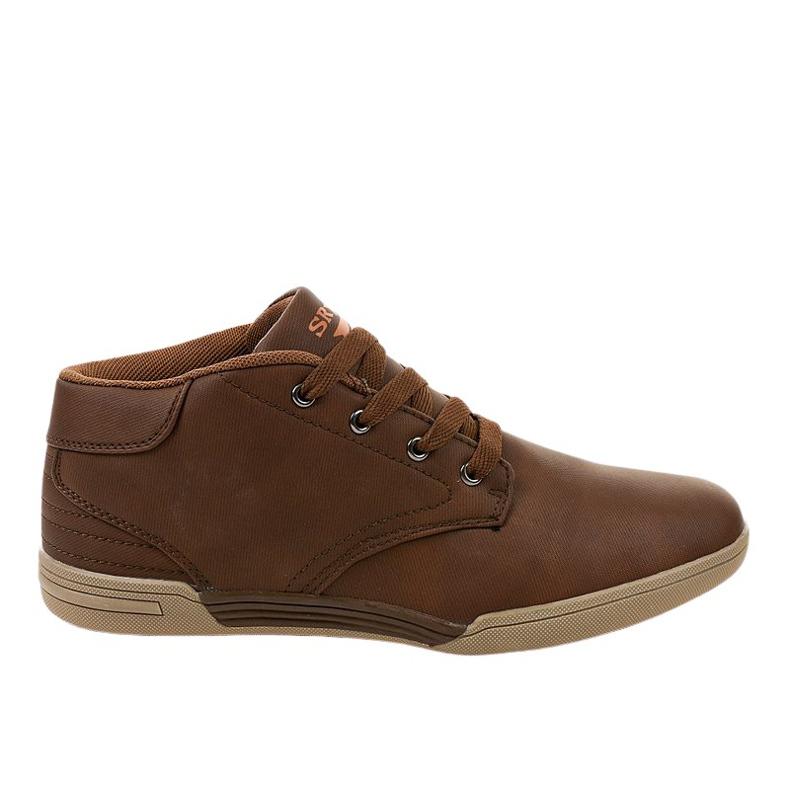 Zapatillas marrones para hombre 15M787 marrón