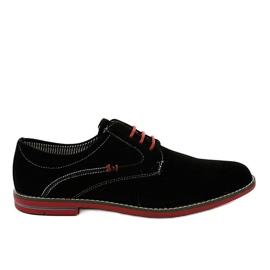 Zapatos elegantes negros 6-688