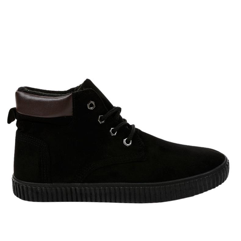 Zapatillas de hombre con aislamiento negro AN06