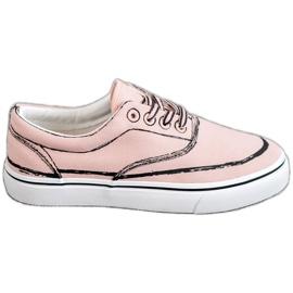 Bestelle rosa Zapatillas de moda