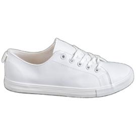 SHELOVET blanco Zapatillas cómodas