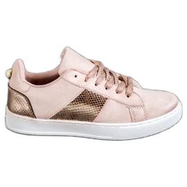 Emaks rosa Zapatillas de moda