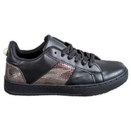 Emaks negro Zapatillas de moda