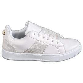 Emaks blanco Zapatillas de moda