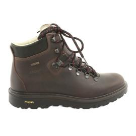 Zapatillas de trekking color grisport marrón