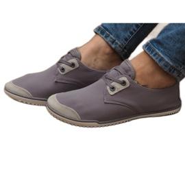 Zapatillas con cordones Lycra 1603 Gris