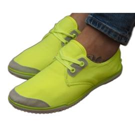 Zapatillas con cordones Lycra 1603 Amarillo