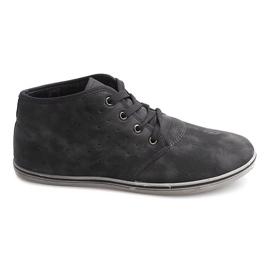 Zapatillas altas de moda TL354 Gris