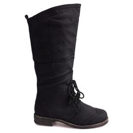 Jazz Boots 7-1GN016A Negro