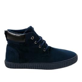 Zapatillas de hombre con aislamiento azul oscuro AN06 marina